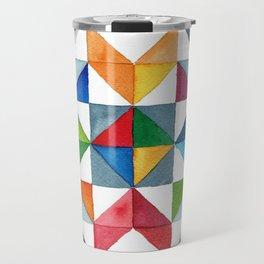 Barn Quilt Travel Mug