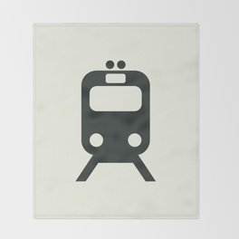 Train Throw Blanket