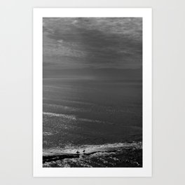 The Surfers Art Print