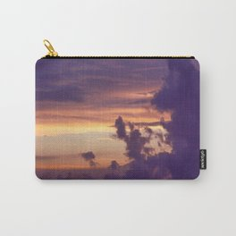 Lilac Sunset Carry-All Pouch