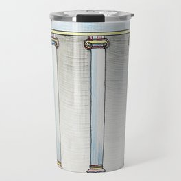 Colonnaded Cup Travel Mug