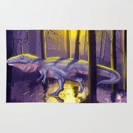 Giganotosaurus dinosaur Rug