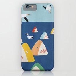 Shark Park iPhone Case
