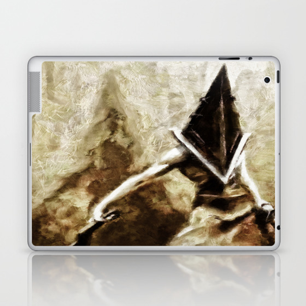Silent Hill Pyramid Head Laptop & Ipad Skin by Joemisrasi LSK900100