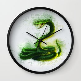 Snake Cobra Wall Clock