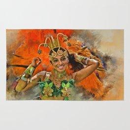 Carnival Queen Rug
