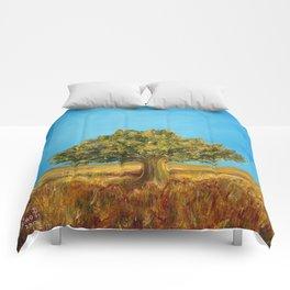 Tuscany, italian summer. Comforters