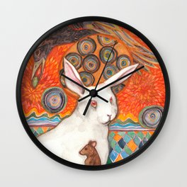 Mosaic Melody Wall Clock