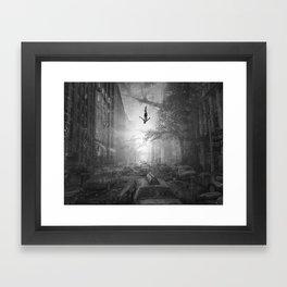 City Jump Framed Art Print