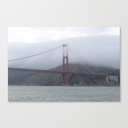 Foggy Golden Gate Canvas Print