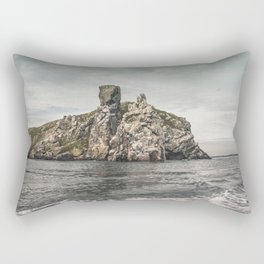 Irish rocks landscape Rectangular Pillow