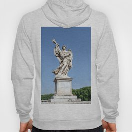 Angel with the Cross at the Sant'Angelo bridge - Rome, Italy Hoody