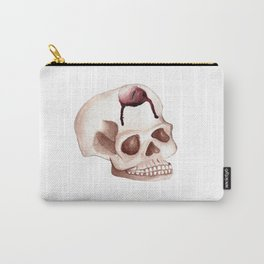 Bloody Skull Candle Carry-All Pouch