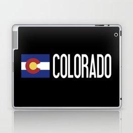 Colorado: Coloradan Flag & Colorado Laptop & iPad Skin