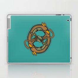 Celtic Hound Letter O 2018 Laptop & iPad Skin