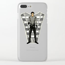 HIStory Promo Military March Jackson 2 Clear iPhone Case