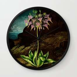 The American Cowslip Flower : New Illustration Of The Sexual System Wall Clock