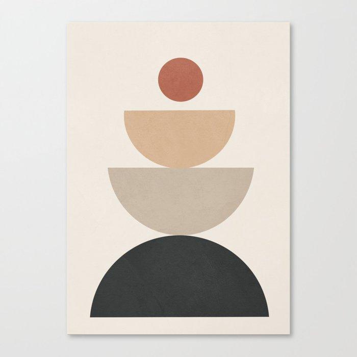 Geometric Modern Art 31 Canvas Print