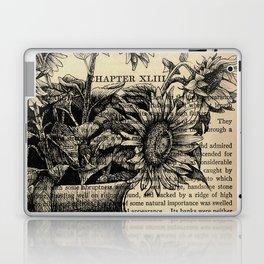 Pride & Prejudice, Chapter XLIII: Sunflowers Laptop & iPad Skin