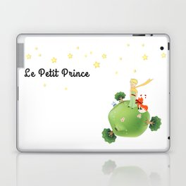 The Little Prince, with the fox and planet Laptop & iPad Skin