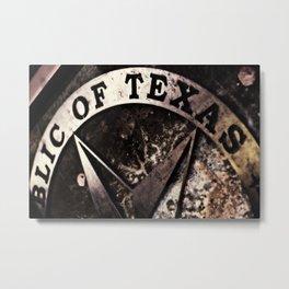 Republic of Texas Metal Print