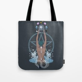 Sea Witch - Moon Phases Tote Bag