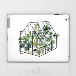 greenhouse with plants Laptop & iPad Skin