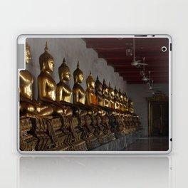 Buddha in a Row Laptop & iPad Skin