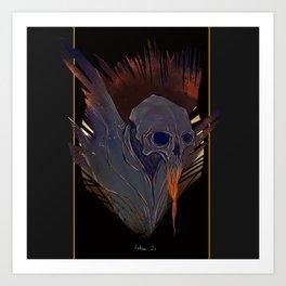 Skull (Thanatos) Art Print