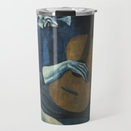Pablo Picasso - The Old Guitarist Travel Mug
