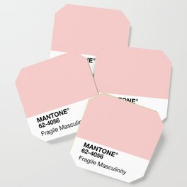 MANTONE® Fragile Masculinity Coaster