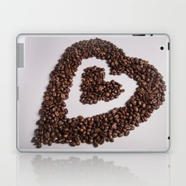 coffee heart #society6 #decor #buyart Laptop & iPad Skin