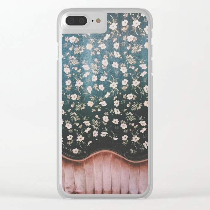 sit with me? Clear iPhone Case
