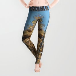 Wind Punk Golden Quivers Leggings