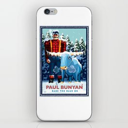 Landmark Series | MN Paul Bunyan Winter iPhone Skin