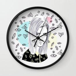 you are my geometric desire... Wall Clock