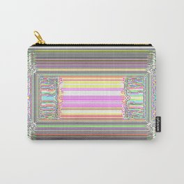 Moderne Glitch Carry-All Pouch