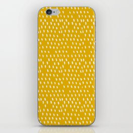 Yellow Modernist iPhone Skin