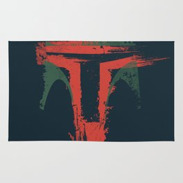 Boba Fett Art - StarWars Fan Painting Rug