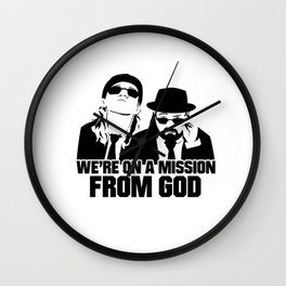 Mission From God Wall Clock