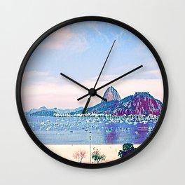Rio de Janeiro - Pão de Açúcar - Art 021 Wall Clock