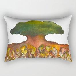 Deep Roots of Mama Tree Rectangular Pillow