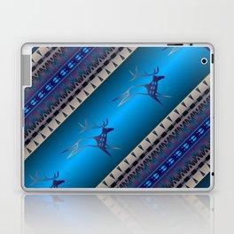 Elk Spirit (Blue) Laptop & iPad Skin