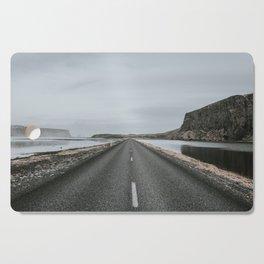 Empty Road - A Love Story Cutting Board