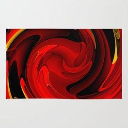 Tornado Red Rug