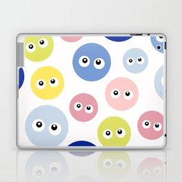 Blobs with eyes Laptop & iPad Skin