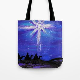Three WiseMen Journey To Bethlehem Tote Bag