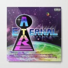 Lil Uzi Vert Eternal Atake Album Cover Metal Print