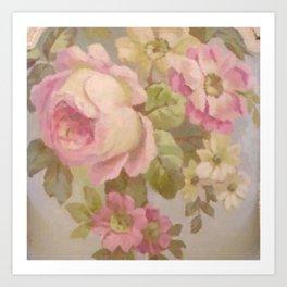Summer Roses Art Print
