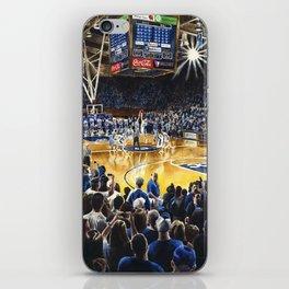 Tip-off, UNC at Duke iPhone Skin